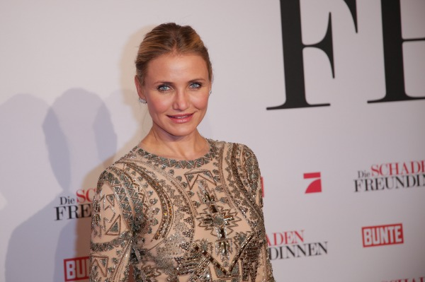 Cameron Diaz promoting The Other Woman