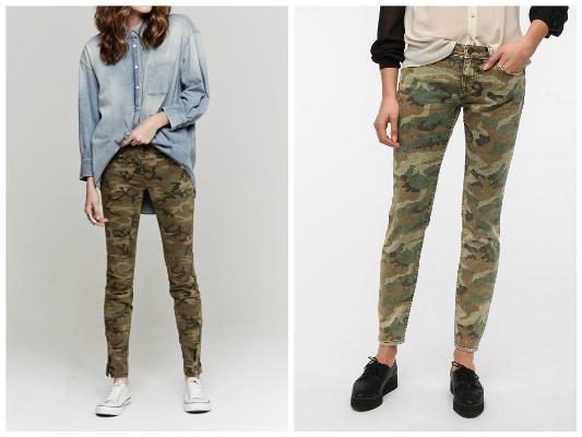 Camo pants for fall