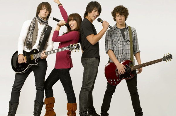 The Jonas Brothers and Demi Lovato rock Camp Rock