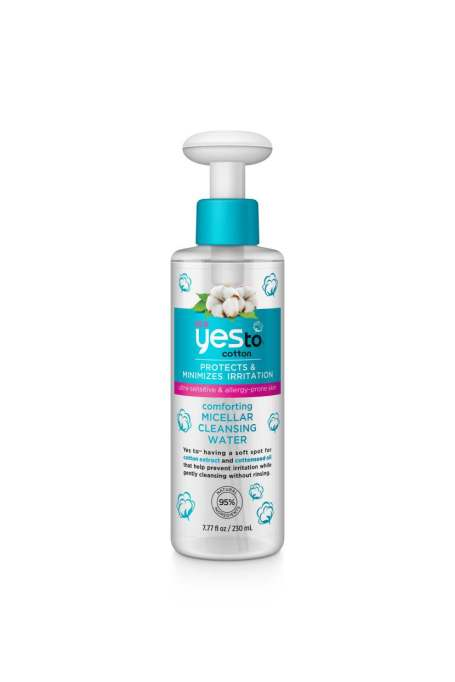 Some micellar water to put these tricks to the test | Yes To Cotton Comforting Micellar Cleansing Water