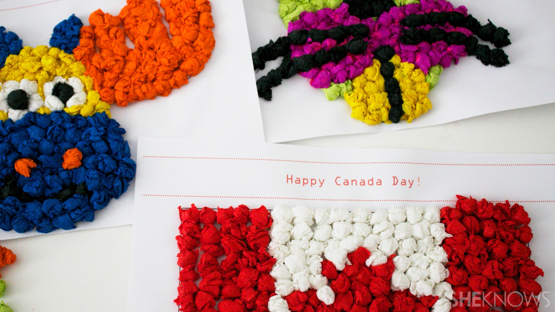 Canada day kids collage | Sheknows.ca - step 4