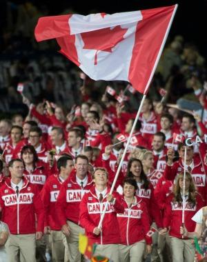 Team Canada - Opening Ceremony
