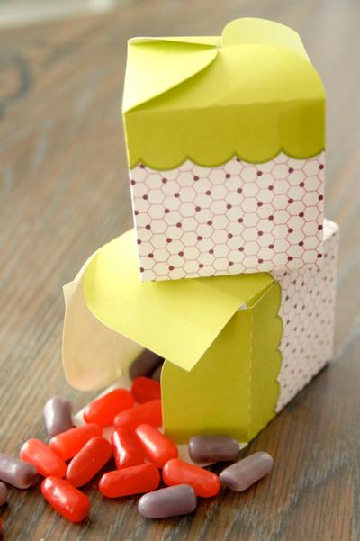 Printable candy box