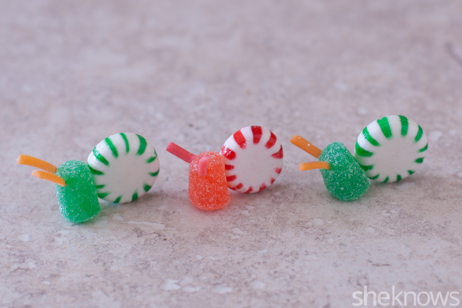 Candy snails tutorial