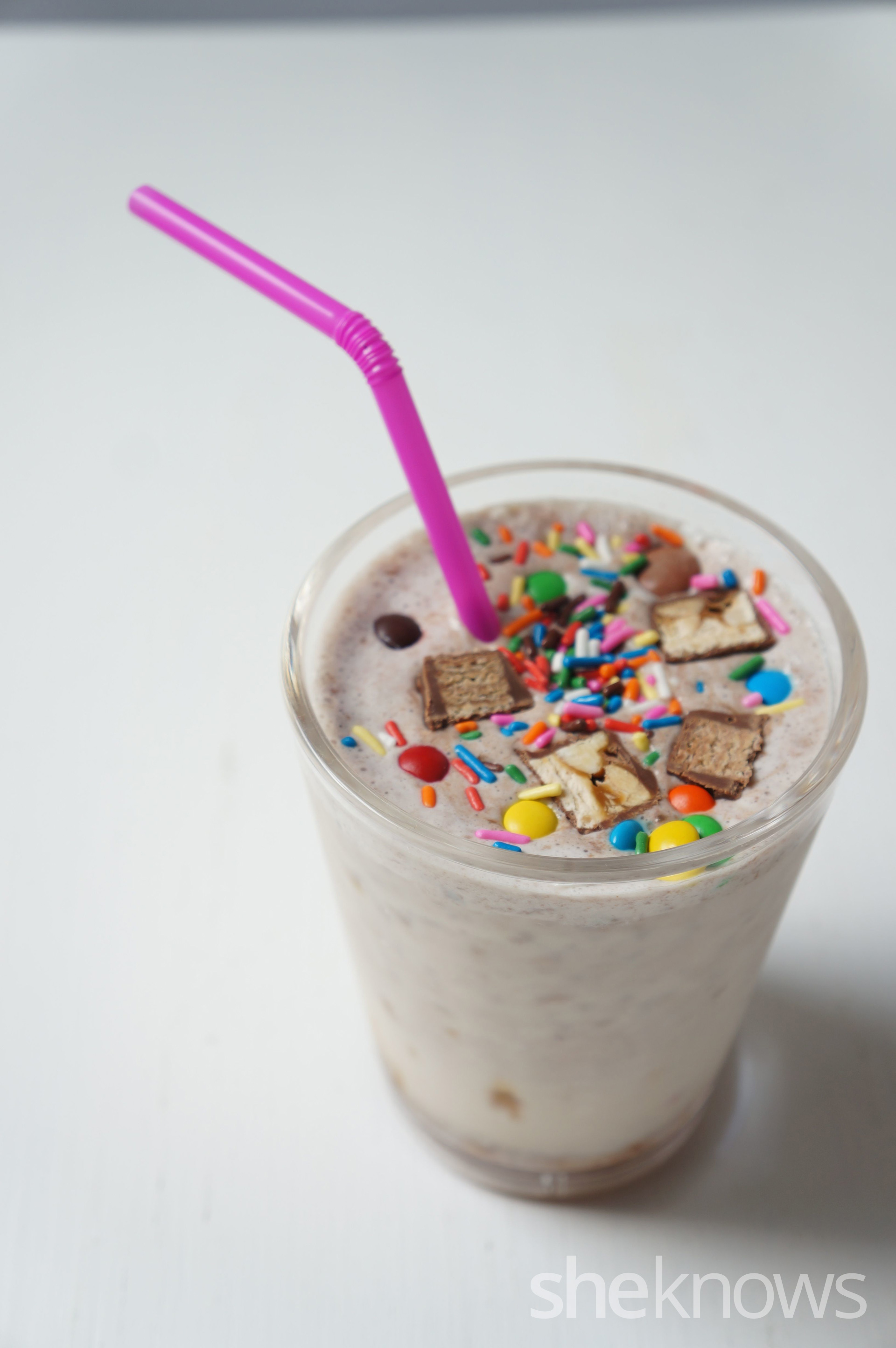 Combination milkshake!