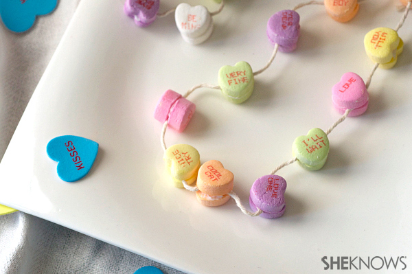 Candy heart necklace | Sheknows.com
