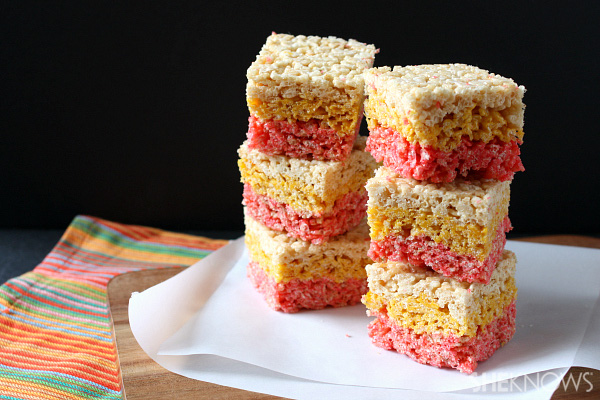 3 Candy corn-inspired Halloween sweets
