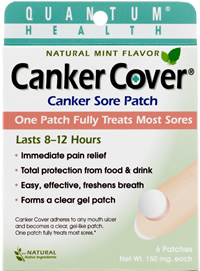 Canker Cover can help conceal a cold sore