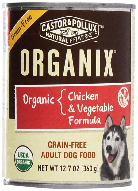 Castor & Pollux Organix Grain Free dog food