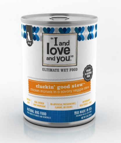 I and Love and You Stew dog food