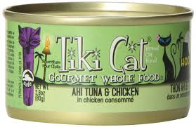 Tiki Cat cat food