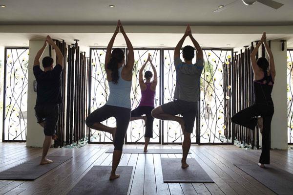 Canyon ranch yoga