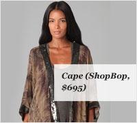 hippie cape