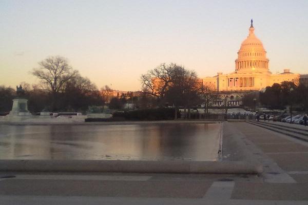 Capital Building post- Inauguration