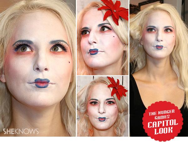 Halloween Hunger Games makeup tutorial