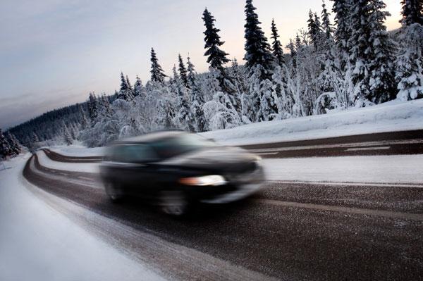 Winter-wonderland road trip