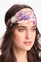 Cara opalescent dream head wrap