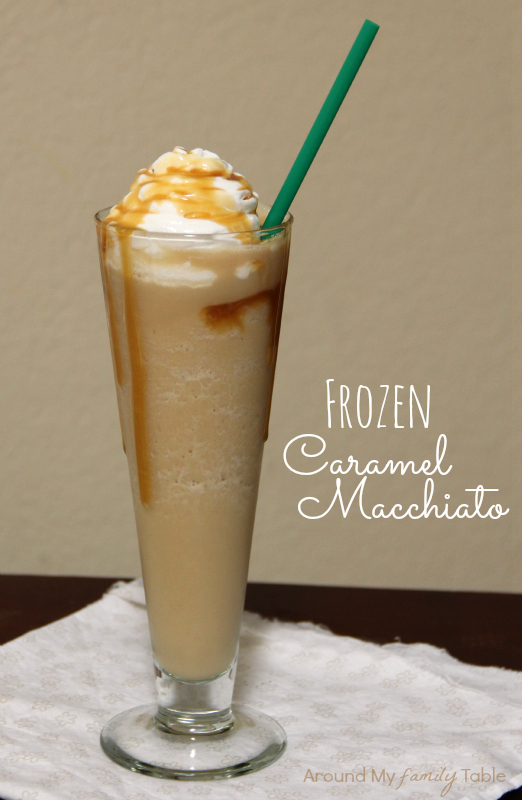 starbucks frozen caramel macchiato