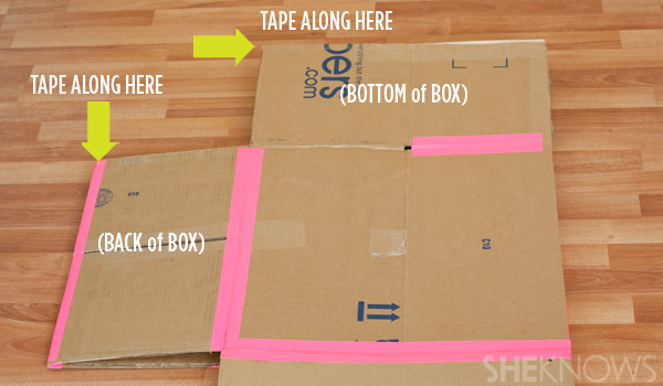 Peachy Turn A Plain Cardboard Box Into A Super Cool Playhouse With This Wiring Database Ioscogelartorg
