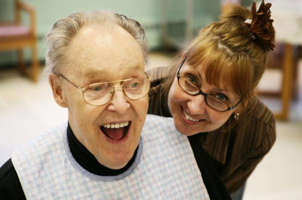 Alzheimer caregiver