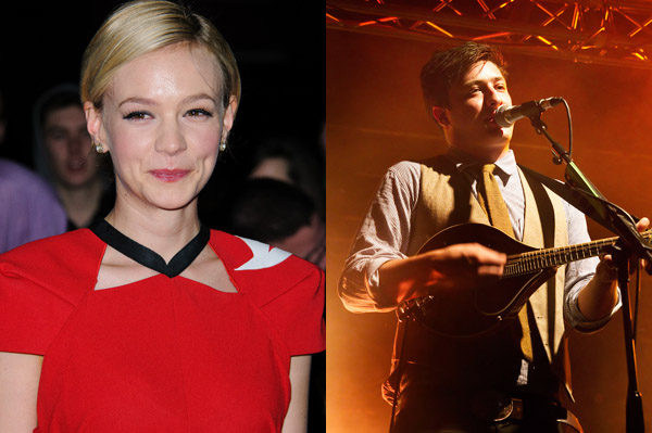 Carey Mulligan and Marcus Mumford are married