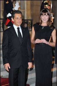 Carla Bruni-Sarkozy and nicolas sarkozy