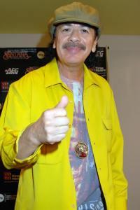 Carlos Santana engaged