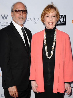 Brian Miller and Carol Burnett