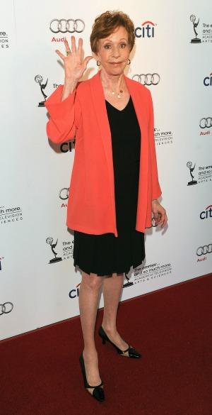 Carol Burnett nabs the Mark Twain Prize for humour