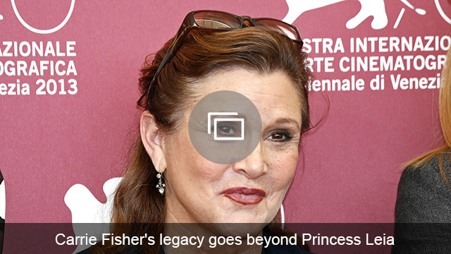Carrie Fisher slideshow