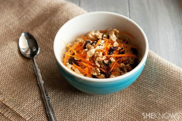 Carrots and vanilla