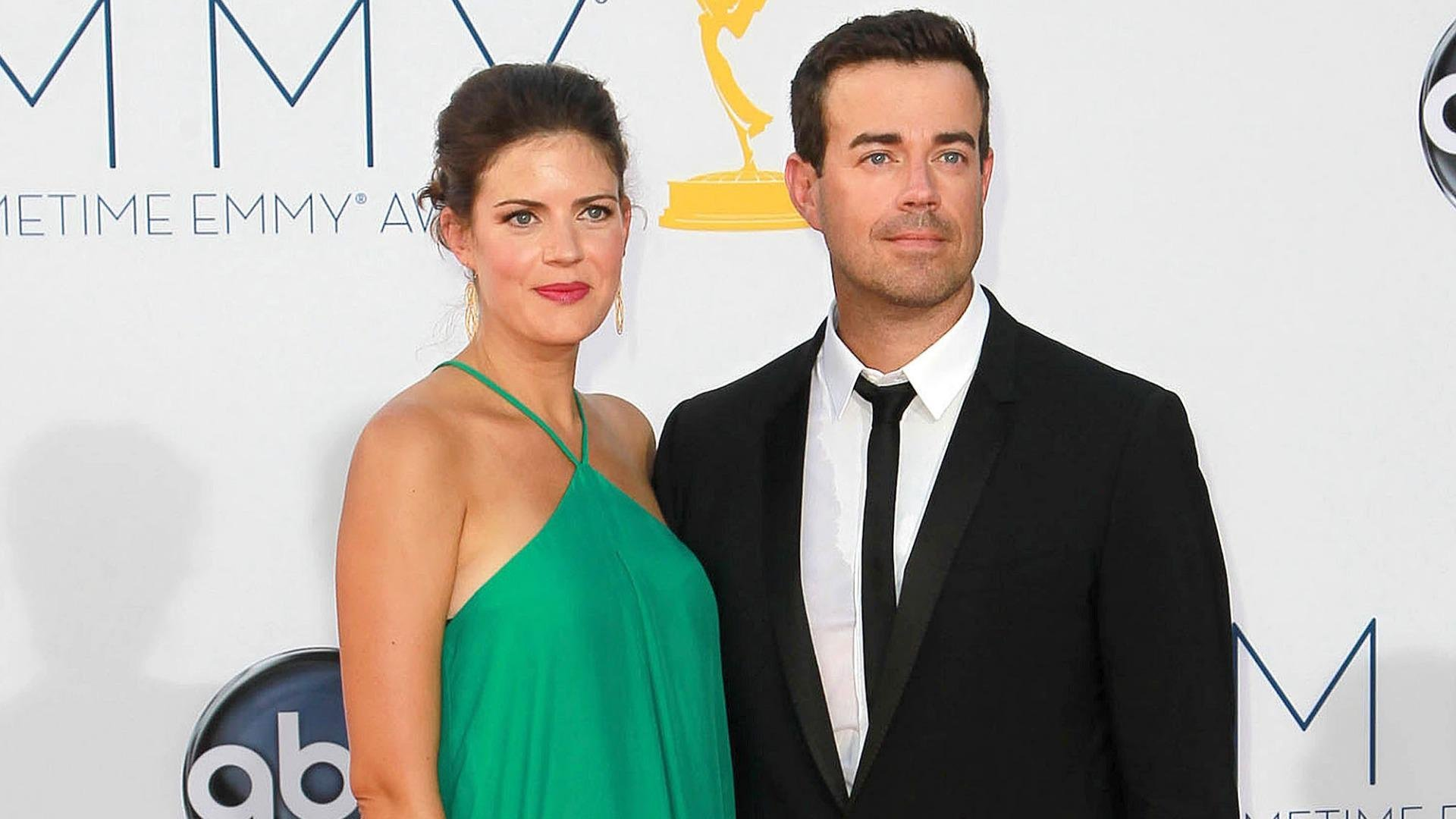 Carson Daly and wife