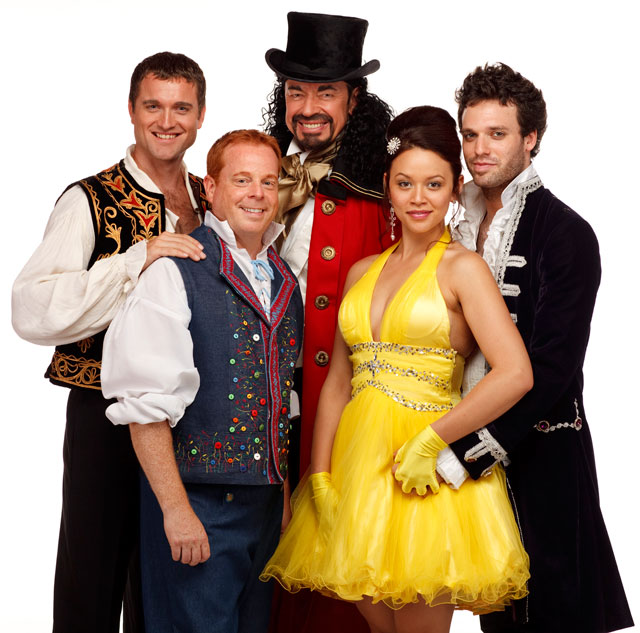 cast of Beauty and the Beast: The Savagely Silly Family Musical