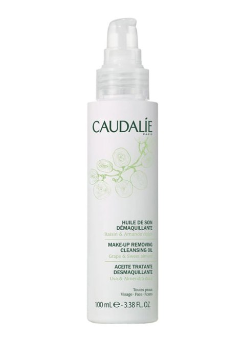 Beauty Benefits of Castor Oil: Caudalie Makeup-Removing Cleansing Oil