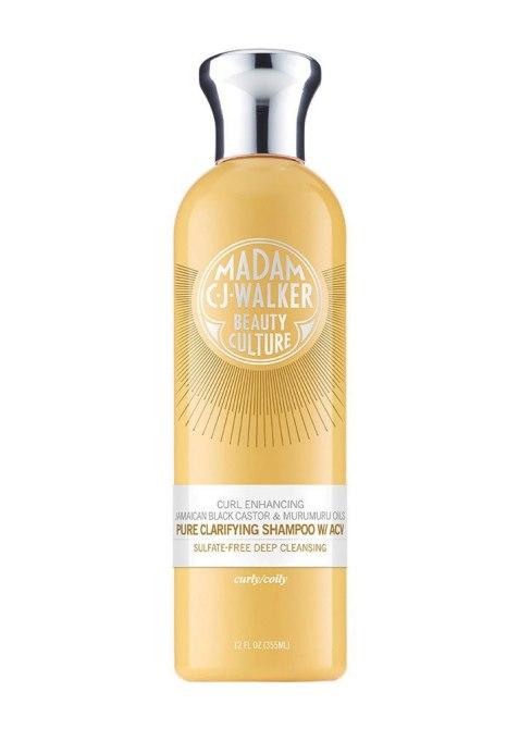 Beauty Benefits of Castor Oil: Madam CJ Walker Jamaican Black Castor Pure Clarifying Shampoo w/ ACV