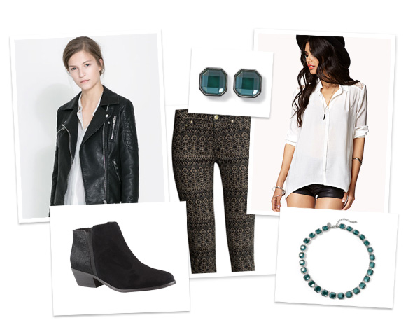 Casual and stylish fall fashion collage