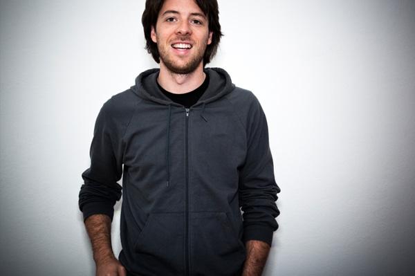 Casual man wearing hoodie