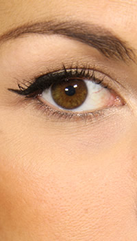 How to get Nicole Richie's eye makeup