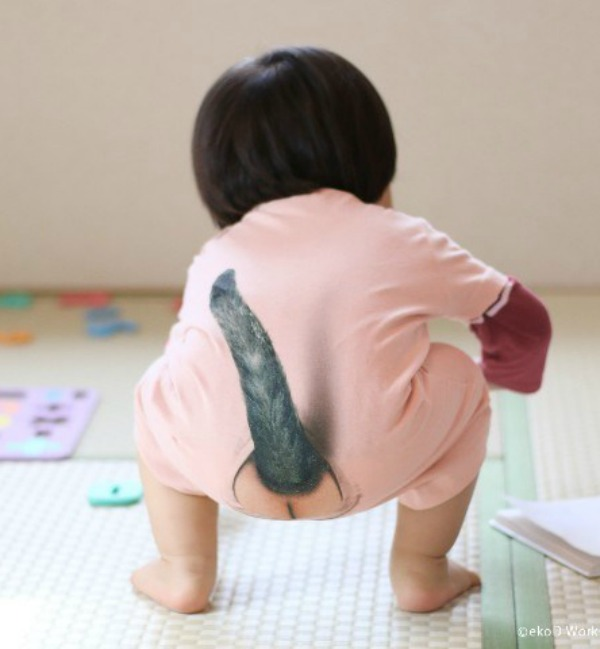 Onesie that makes your child look like a cat