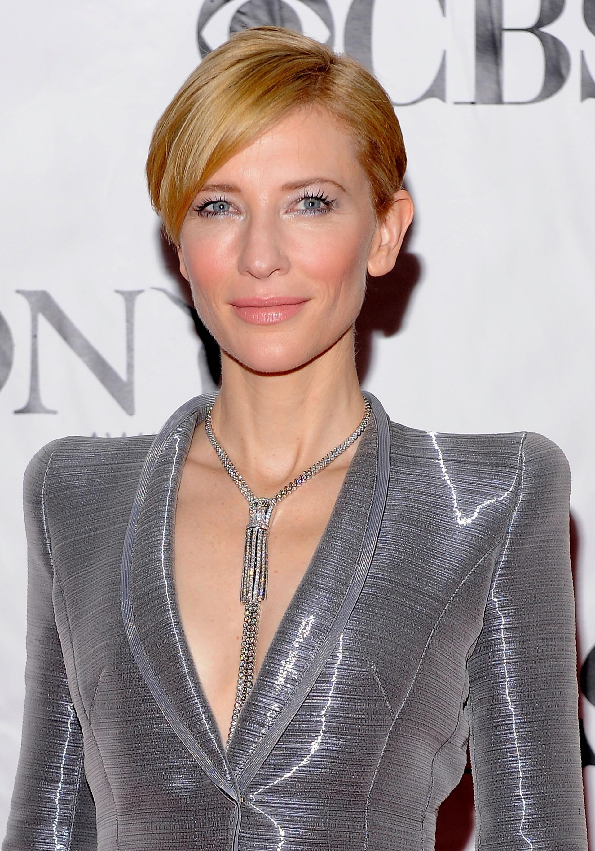 Cate Blanchett's pixie cut