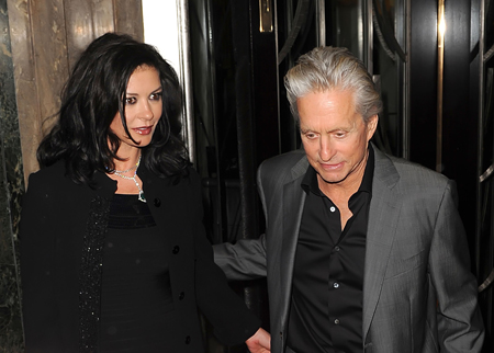 Catherine Zeta Jones Michael Douglas