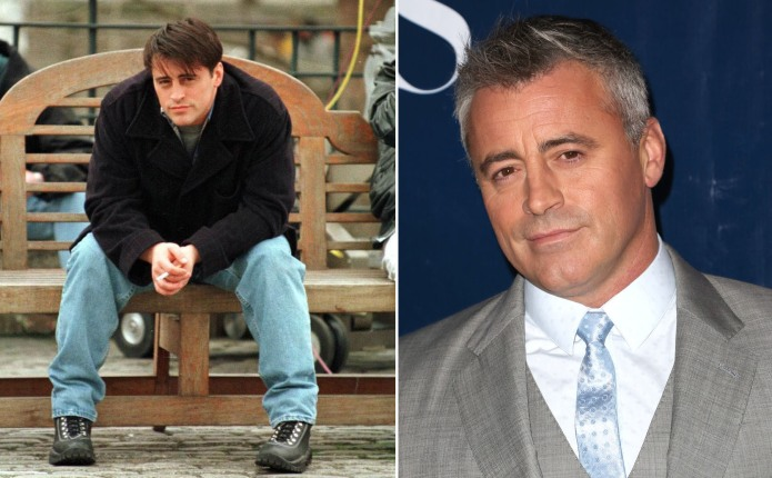 The cast of 'Friends' then and
