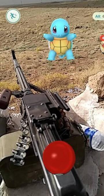 Pokémon in Iraq