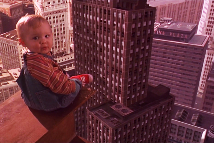 Baby's Day Out features a mini Ferris Bueller