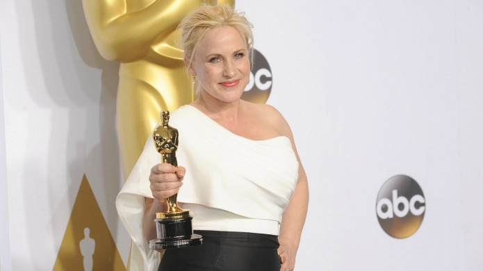 Patricia Arquette's second Oscars speech sparks