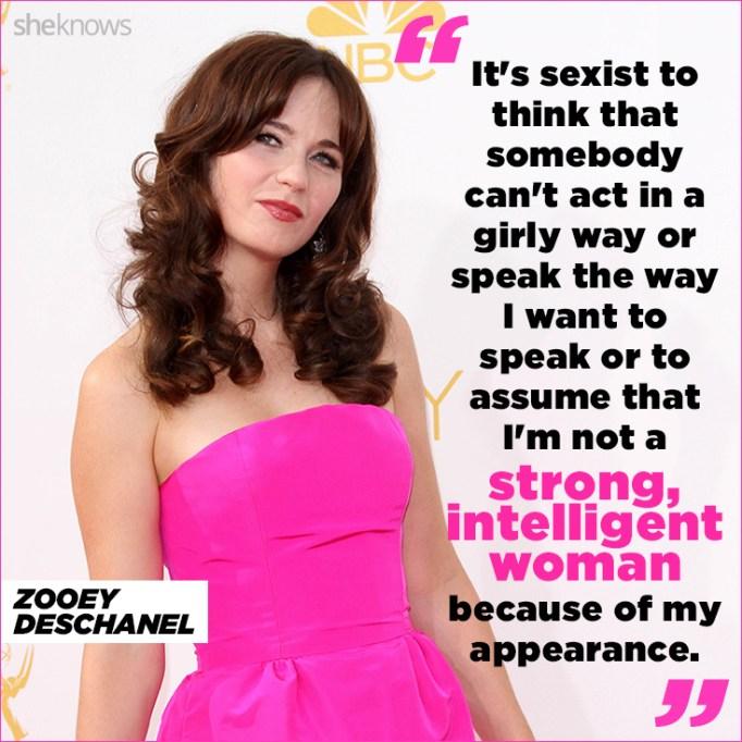 Zooey Deschanel quote