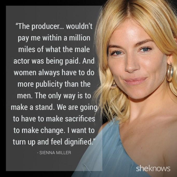Sienna Miller quote