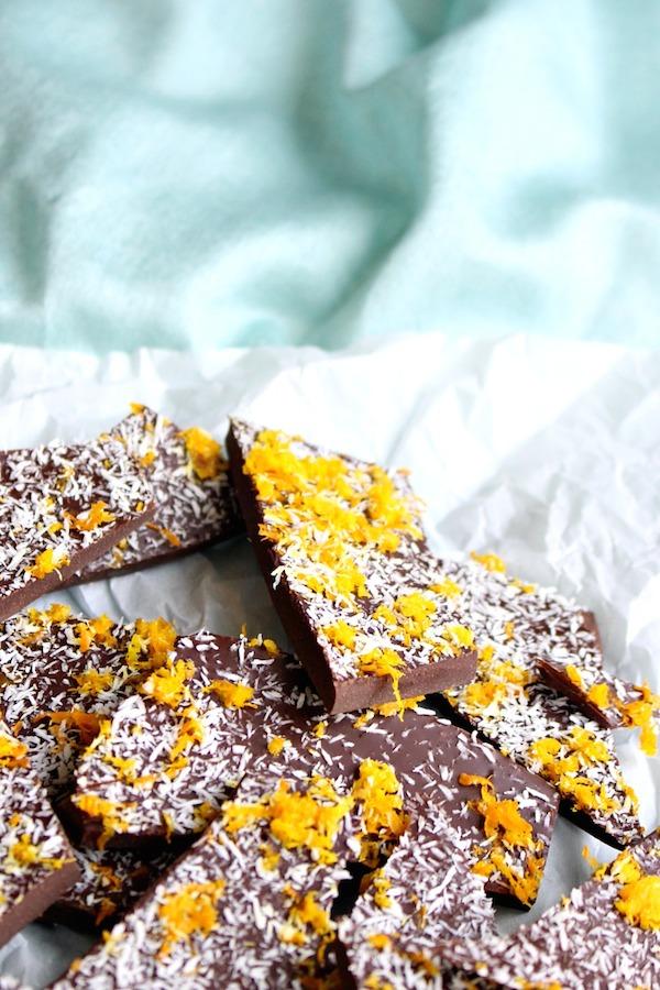 Best pregnancy foods: chocolate orange bark