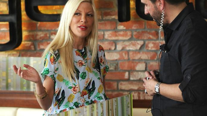 Tori Spelling: Putting her troubled marriage