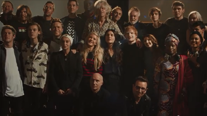 Band Aid 30: One Direction, 27